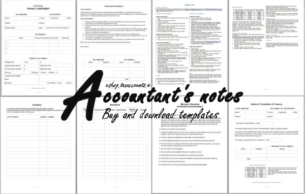 Tenancy Agreement Template Screenshot